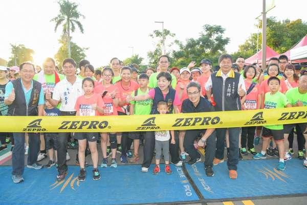 ZEPRO RUN路跑活動  6千人齊聚后里馬場健跑趣