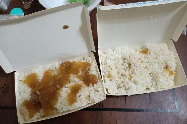【奧客下課】買2盒白飯淋肉汁,竟然要一百元!到底是被坑了還是買錯地方?