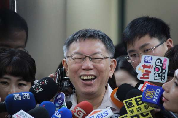 看上蔣萬安當市長接班人?柯文哲:先問他7點半上班行不行