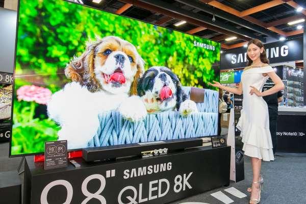 搶攻 8K 市場,Samsung 推出目前台灣最大 98 吋 QLED 8K 量子電視