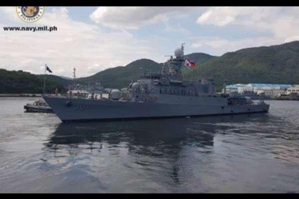 菲國海軍艦隊現蹤台灣海峽 我海巡艦艇「敦睦鄰邦」引導通過