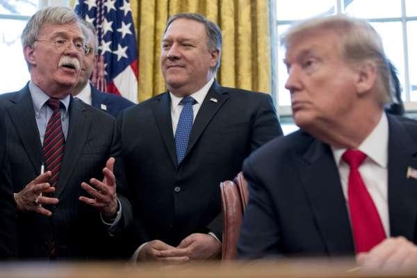 當鷹派大將離開白宮,美國外交會有何不同?《經濟學人》看波頓被炒:都是川普推特治國,差別不大