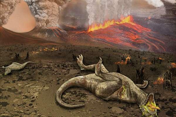 「恐龍滅絕的那一天」小行星撞擊威力相當100億顆原子彈 美研究全揭密