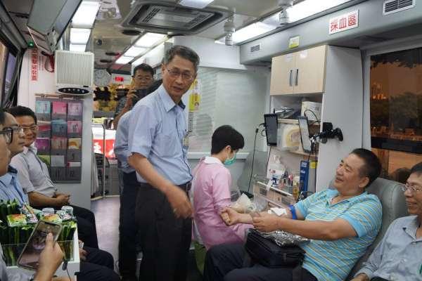 響應捐血善舉 中油石化號召員眷挽袖捐熱血