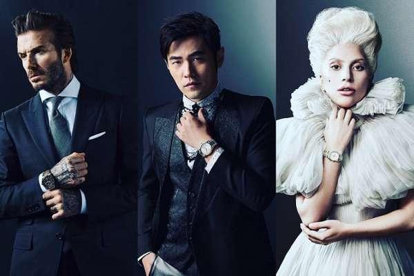 周杰倫、貝克漢、Lady Gaga三大天王同時代言的錶,究竟它的魅力何在?