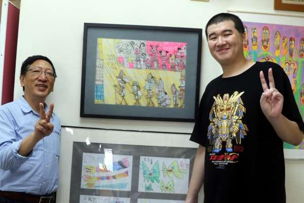 藝術創作開啟心靈 特教生奪全國繪畫與工藝賽第一