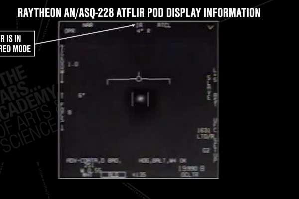 軍方戰機拍攝到幽浮、還有影片存證?美國海軍承認了!