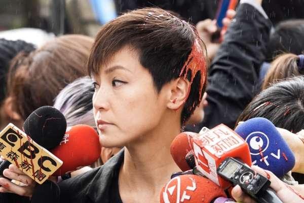 風評:潑在何韻詩頭上的紅漆,刺向台灣民主的利刃