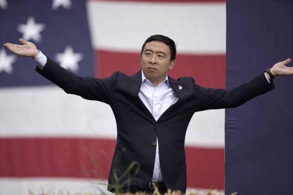 大蘋果有希望由台裔美人當家!楊安澤46歲生日正式宣布參選紐約市長