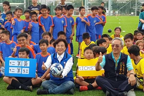 2019北屯區理事長盃足球錦標賽開踢  近二十隊參賽