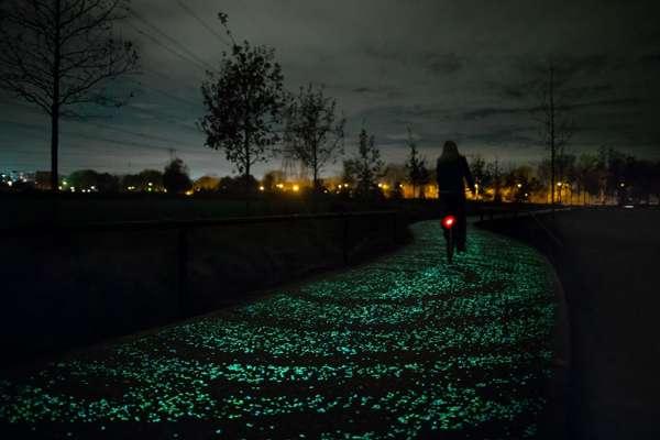 把梵谷的「星夜」鋪成自行車道,可能嗎?荷蘭設計師鋪給你看!在「星夜」中追風浪漫到沒朋友