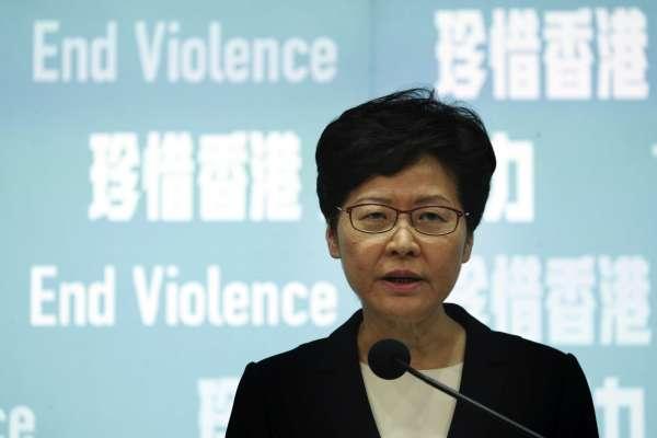 遊行戴口罩就關一年!林鄭月娥宣布《禁止蒙面規例》5日生效,強調「香港並未進入緊急狀態」