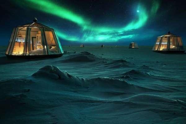看見極光就會帶來一輩子的幸福,那在極光下睡一晚呢?北極冰屋酒店販賣「幸福的代價」,竟然要花這麼多錢...