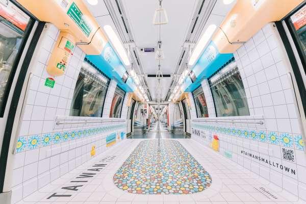 地鐵車廂變身阿嬤家的浴室!台灣古早味設計降臨新加坡,老人家看了超感動