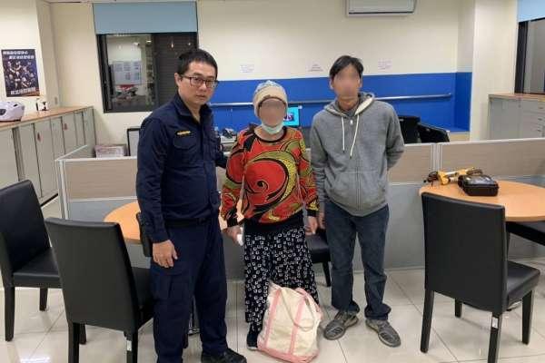 人臉辨識結合大數據 林口警助老婦人安全返家