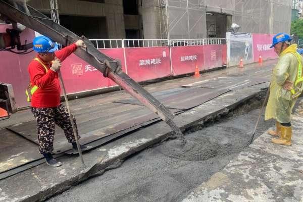 兼具環保及品質  管挖工程採含焚化再生粒料CLSM回填