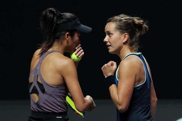 網球》謝淑薇3闖WTA年終賽女雙決賽 不敵法網冠軍銀恨