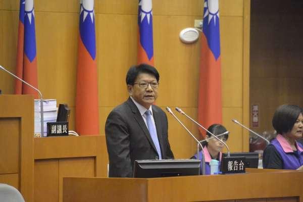 議會定期會開議 潘孟安施政總報告