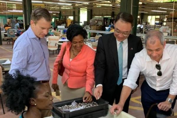 台美首度組團考察聖露西亞投資環境 外交部:珍視友邦、創造三贏