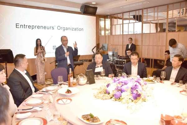 出席企業家協會歡迎晚宴  葉匡時期許共同促進高雄產業繁榮