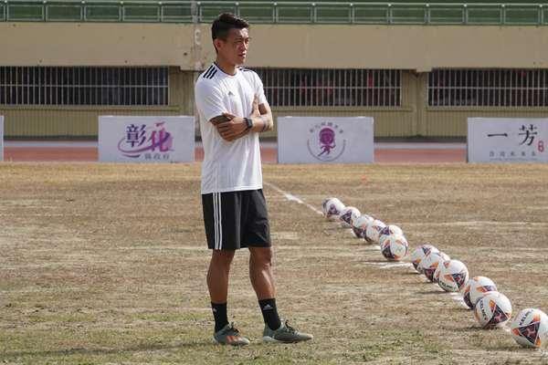 足球》陳柏良足球菁英學院第三年承辦 首度移師中台灣耕耘基層足球