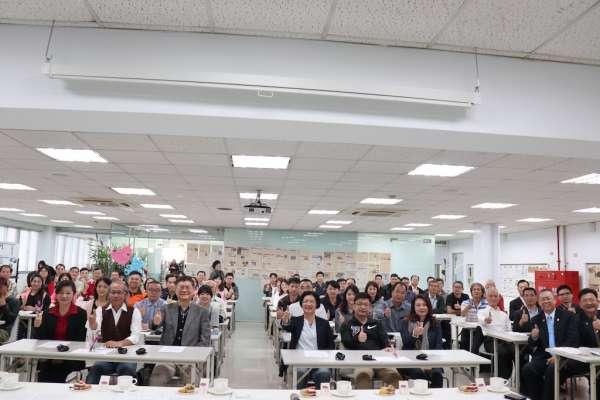 彰化縣產業座談參訪全拓幸福企業 分享經營經驗
