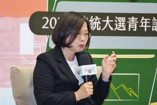 觀點投書:蔡英文是扼殺台灣言論自由的劊子手?