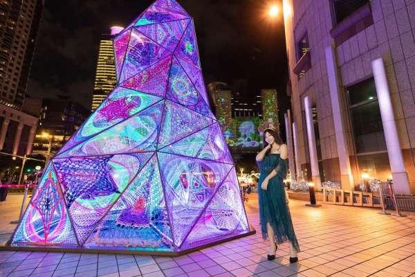 世界大獎級團隊作品 新北耶誕城化身無牆美術館