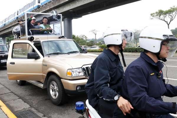 記取三一九血淋淋的教訓!總統候選人兵分多路掃街 「安維7號」將確保「絕對萬全」