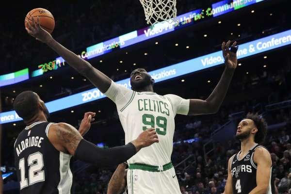 NBA》明星賽票選獲球迷肯定,卻被教頭潑冷水 塞爾提克菜鳥中鋒:明年一定要爭取到機會