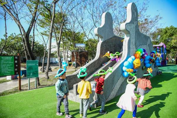 屯區共融公園全數改善完工 盧秀燕:營造美好生活