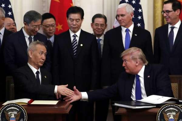 誰的及時雨?川普亦或習近平:誰更需要中美《第一階段經貿協議》