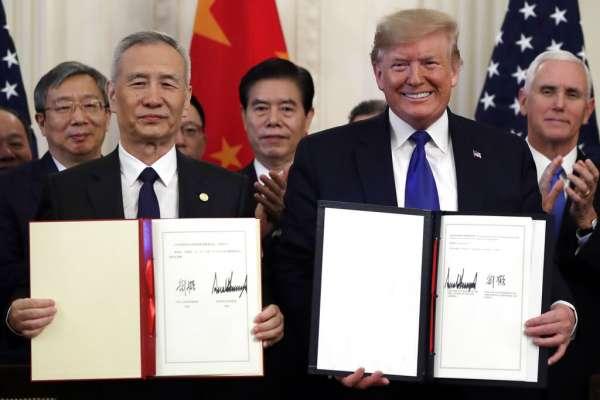 觀點投書:美中階段性協議達成,台灣沒有樂觀空間