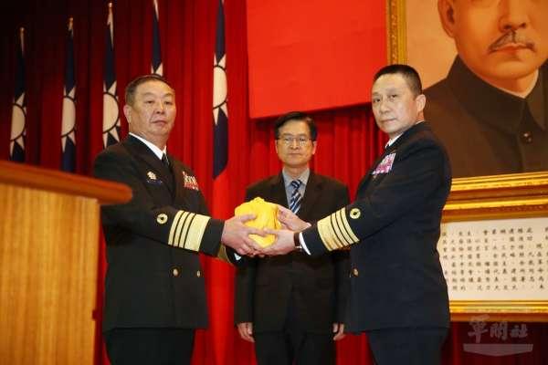 丘樹華接任參謀總部副總長 陳曉明調任常次
