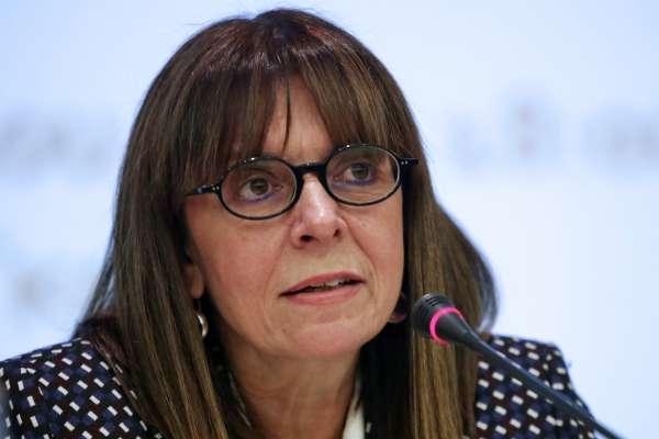 性別平等重要里程碑!希臘國會跨黨派支持 資深女法官高票當選史上首位女總統