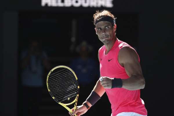 澳網》生涯第13度挺進澳網16強 納達爾有望對決「壞小子」基里洛斯