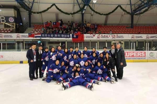 冰球》U18女子代表隊摘金 明年升上世界一級將寫隊史新猷