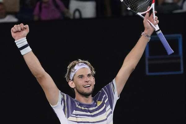 澳網》提姆逆轉茲韋列夫首度晉級決賽 對決7屆冠軍喬科維奇