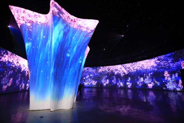 台灣燈會「環·台中光影燈區」跳脫傳統 360度光雕秀震撼十足