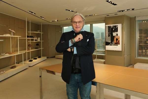 專訪義大利精品鞋Tod's總裁Diego Della Valle,揭露讓黛安娜王妃、喬治克隆尼都愛穿的秘密!