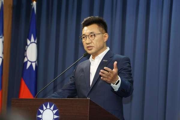 江啟臣提「黨部數位化」 謝國樑支持:科技數位化可為老舊機構帶進創新機會