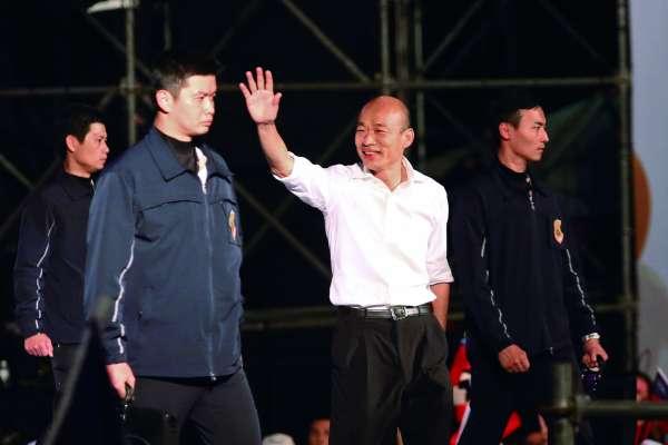 「基於愛與包容」 韓國瑜撤告吳子嘉:總統大選是非冤仇可一揭而過