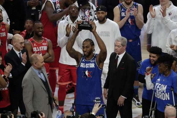 NBA全明星賽》成史上首位布萊恩MVP獎得主 雷納德:對我來說意義非凡