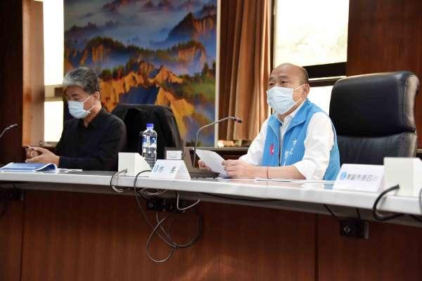 下水道箱涵修復95% 韓國瑜:治水是高雄重點工作