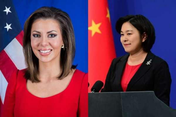 中美外交部發言人推特再開戰!她痛批:「姓黨」的媒體不算是記者