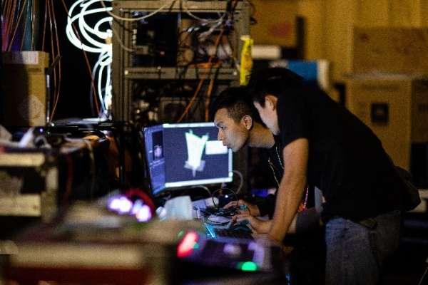 燈會幕後》3樓高360度環景投影 光電技術「說」台中