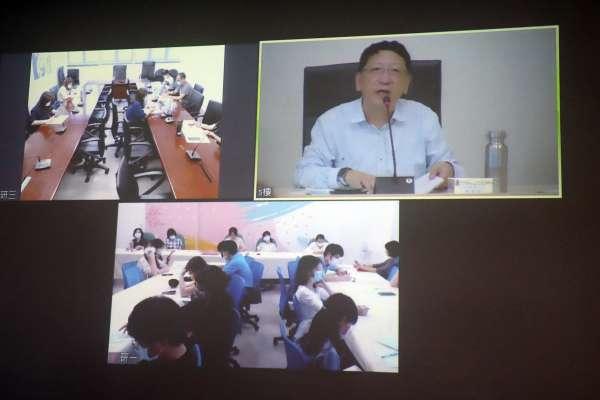 高市教育局首次視訊局務會議 吳榕峯:防疫不可鬆懈