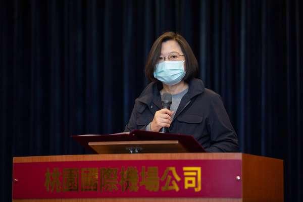 「台灣在防疫期間向世界展現實力!」蔡英文:政府會協助產業紓困、和民間共度危機