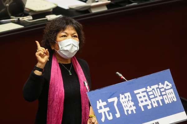 在立院用氣炸鍋炸口罩 葉毓蘭:我差點引發火警