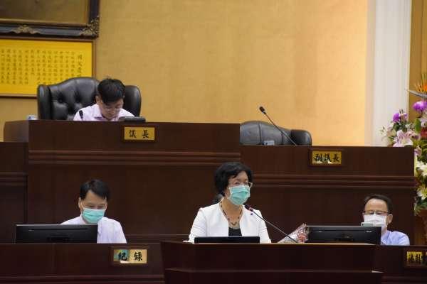 王惠美議會施政報告 防疫事關注重點